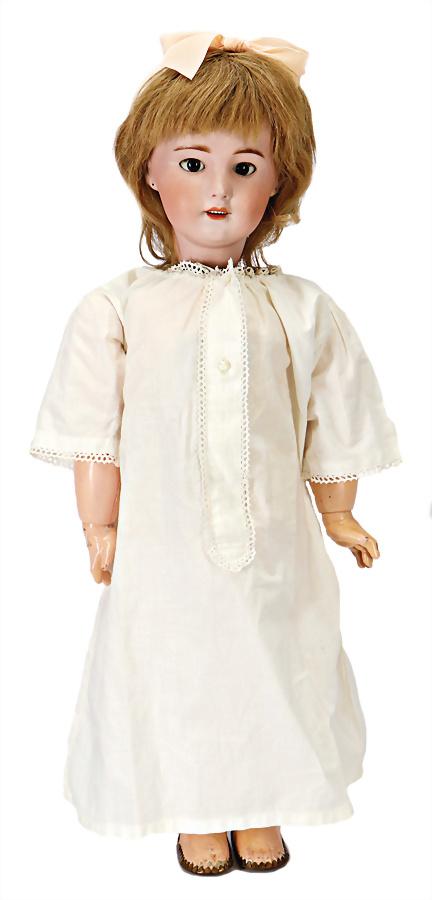 für die ca 40 cm große Puppe schöne ältere weiße Bluse //16