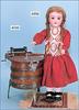 Puppenkleidung Puppensocken 4 Paar 6 cm Puppe 40-45 cm Puppen & Zubehör